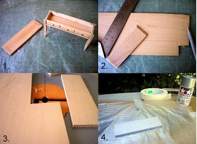 how to take apart cheap miniature furniture table goes into the microwave with a cup of water. Black Bedroom Furniture Sets. Home Design Ideas