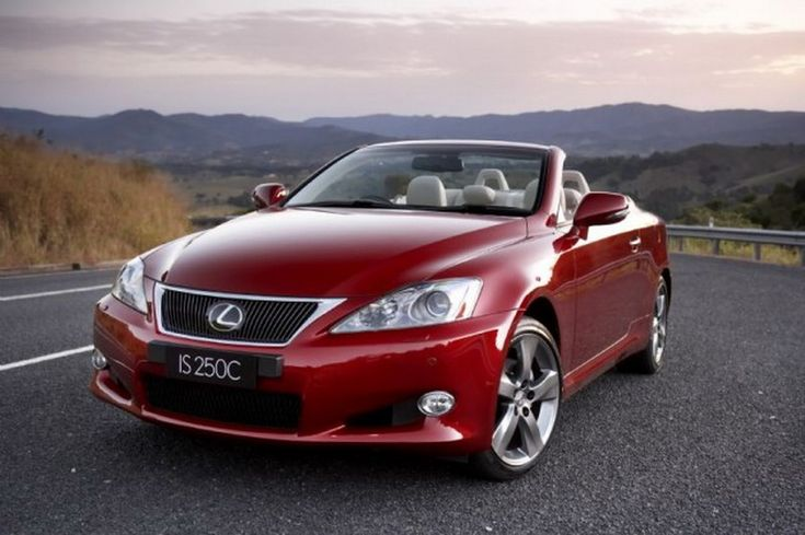 The Lexus's four passengers 2014 IS C coupes deliver the world's fastest separation, coupe from convertible in just 20 seconds. The three pa...
