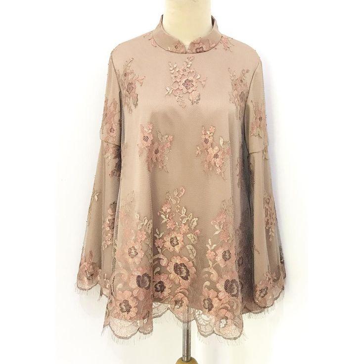 A simply kebaya for pretty lady, Mrs. Vira ❤️ • • Hi.. Rumah Jahit Bhajoo menerima jahit blouse/kemeja, gamis, dress, kebaya, wedding dress, rok, celana, kerudung, baju anak, baju pria, dll. • • Ngga hanya terima jahit lho, kami juga terima bordir & payet. Dan kami juga menyediakan bahan batik di workshop kami untuk dijadikan blouse/dress yang kalian mau. Atau bisa juga jadi kombinasi dari bahan polos yang kalian punya. • • Untuk yang mau jahit tapi belum punya bahannya, kami juga bisa…
