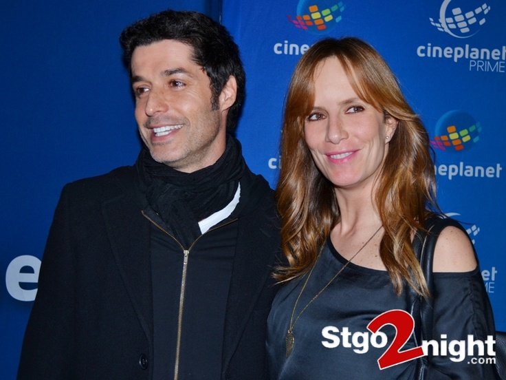 Francisco Perez Bannen y Diana Bolocco en la inauguracion del Cine Planet del Mall Costanera Center