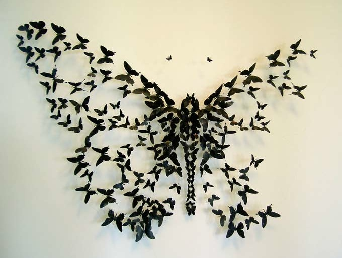 Black Butterfly Wall Decor Gossip Girl : Best images about red and black bedroom ideas on