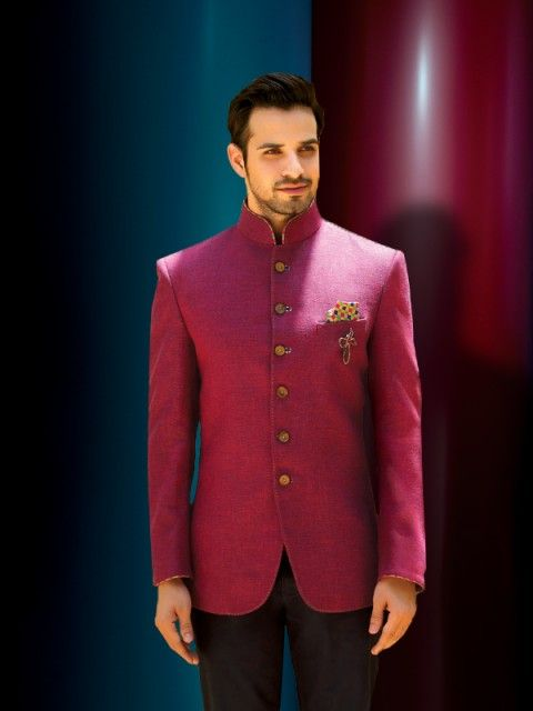 Lilac Rose Jodhpuri suit