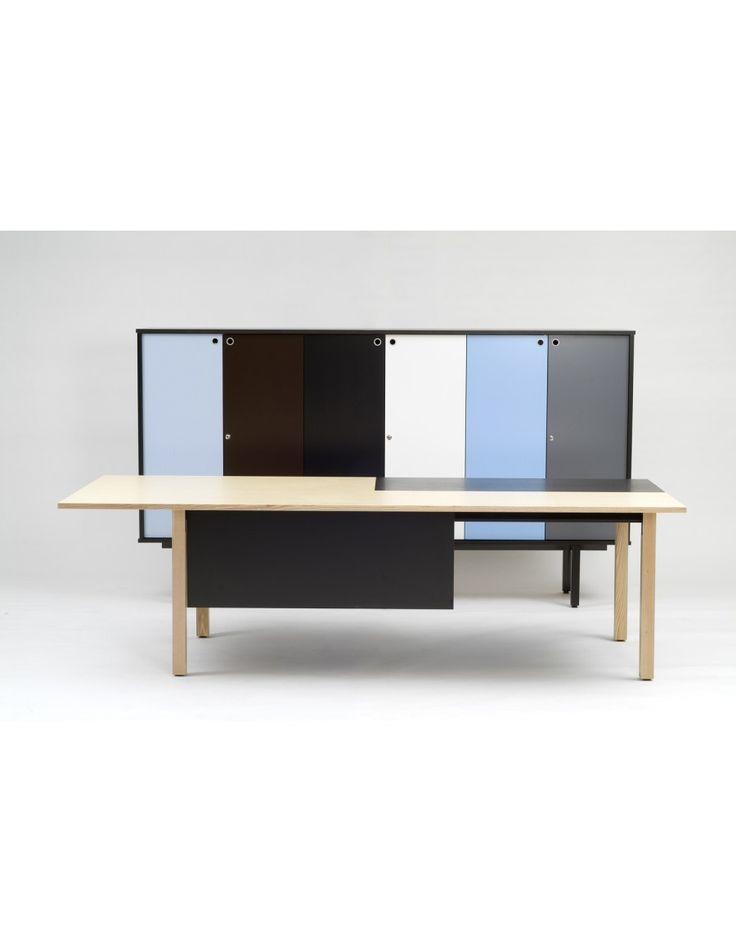 Sessio-cabinets, designed by Yrjö Wiherheimo.