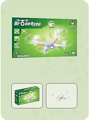 Com Drone4You descobre:  - Quem inventou os drones - Como funcionam - Quais as suas aplicações - O que têm em comum com os helicópteros - Características e curiosidades deste fantástico robô aéreo.