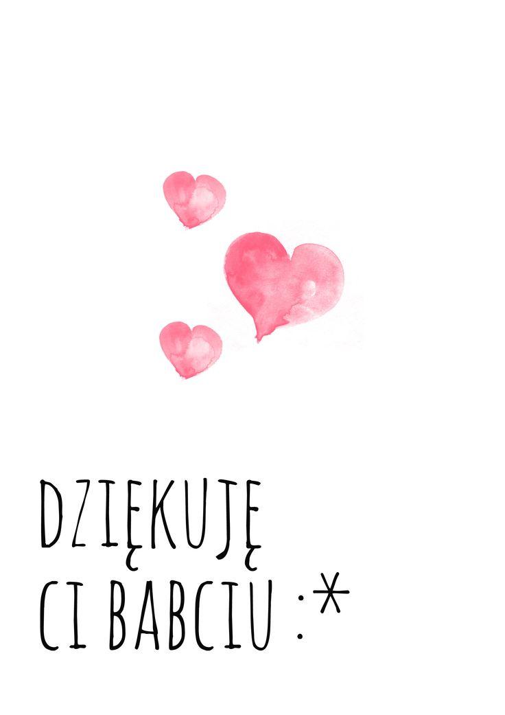 Plakaty dla babci i dziadka ⋆ lecibocian.pl