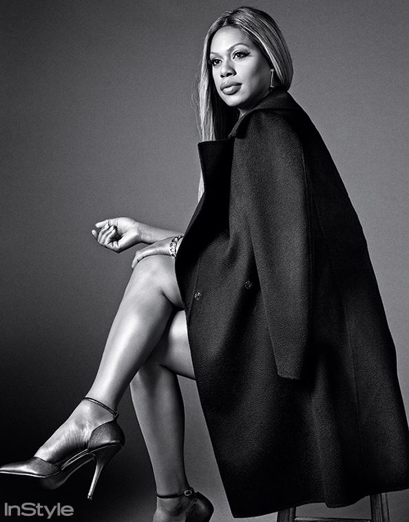 "Laverne Cox in the New InStyle: ""I'm a Self-made Woman in Every Sense of the…"