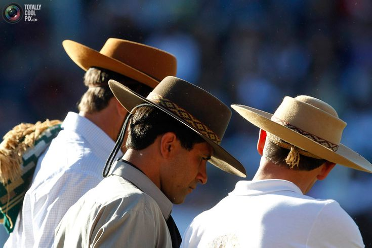 gauchos | how hats are worn