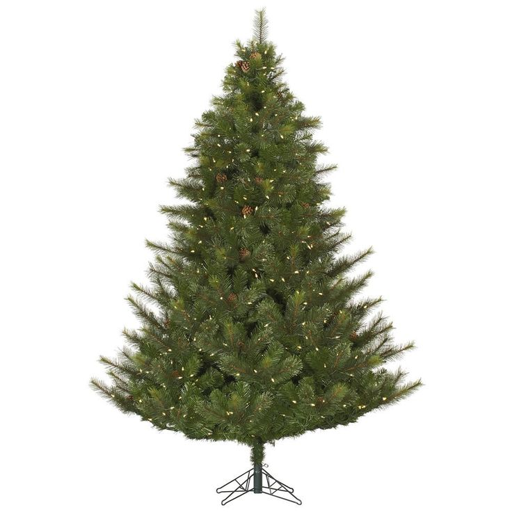 Fabulous  ft Pre Lit Artificial Christmas Tree Modesto Mixed Pine with Warm White