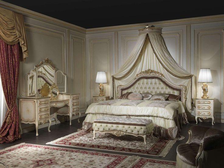 Classic Style Bedroom Model Louvre 943 | Vimercati Classic Furniture