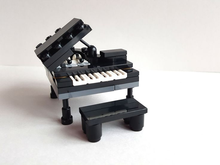 how to build a lego piano