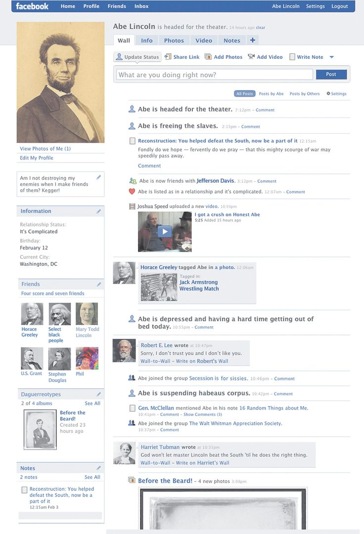 17 best ideas about facebook profile student survey abe lincoln facebook twitter and teaching history