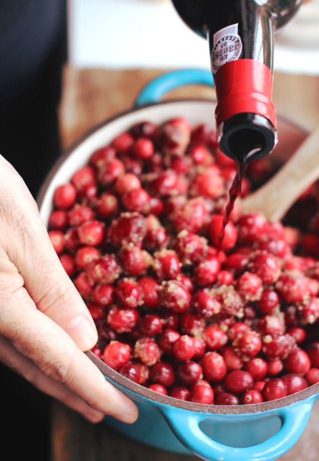 Sugared cranberries | London Fridge