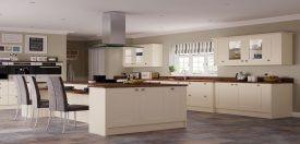 Portland Shaker kitchen design - http://www.unitsonline.co.uk/shaker-kitchens
