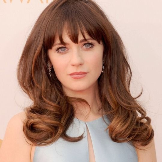 new hair style for my style icon zooey deschanel のおすすめ画像 1656 件 6474