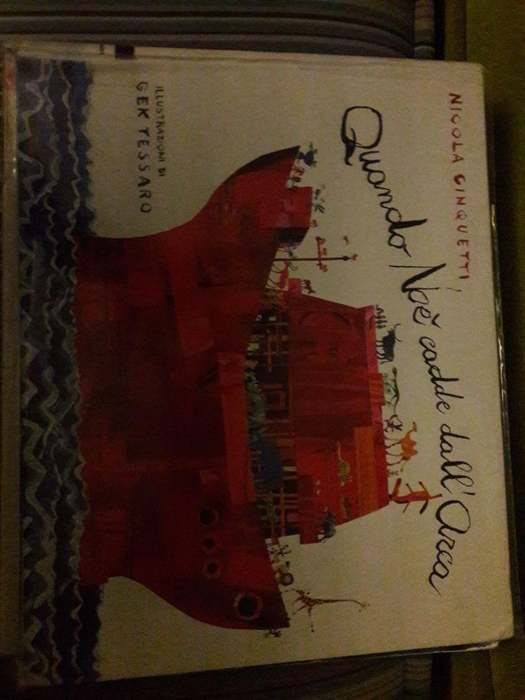 Quando Noè cadde dall'arca - libro per bambini 5+  Poema in rima che racconta la storia che tutti già sanno ma con un fuori programma originale e divertente
