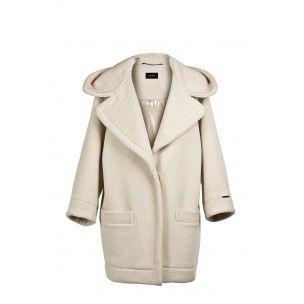 Superbe manteau Cop Copine modèle FRANCISCO neuf et étiqueté - collection automne/hiver 2014-2015 dispo en S et en M coloris blanc ou noir