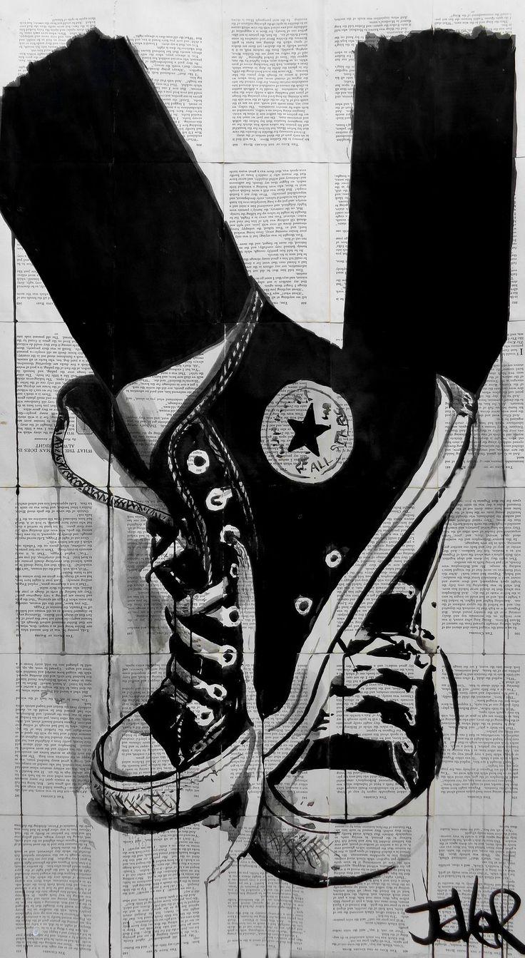 """black........ "" -  Ink 2014 Drawing   by Loui Jover"