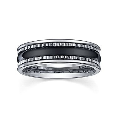 tungsten wedding band mens 7mm jcpenney - Jcpenney Mens Wedding Rings