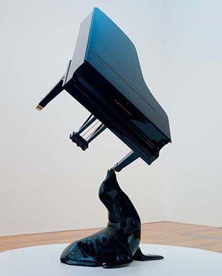 The Horn of Africa, Michael Parekowhai / The Horn of Africa 2006 / Automotive paint, wood, fibreglass, steel, brass /