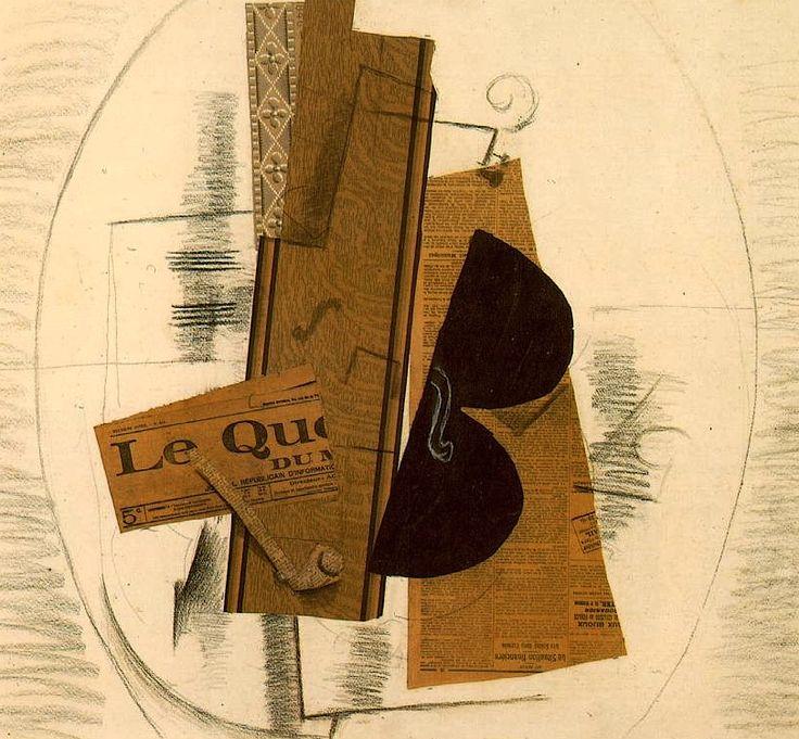 Connu Braque. Violin y pipa. 1913-14 | Siglo XX. 2. El cuadro y la  TX09