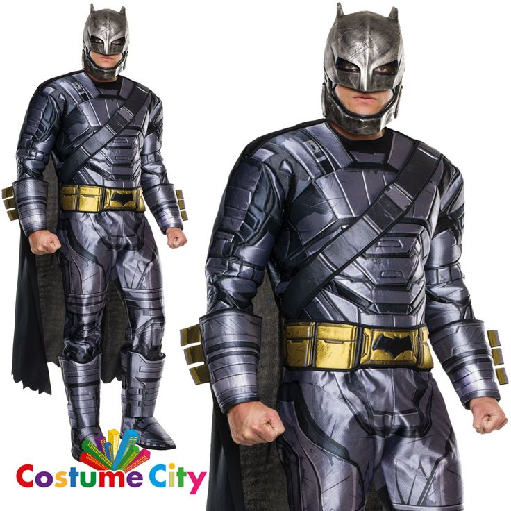 Adults mens dawn of justice #deluxe #armoured batman fancy dress #party costume,  View more on the LINK: http://www.zeppy.io/product/gb/2/391605082693/
