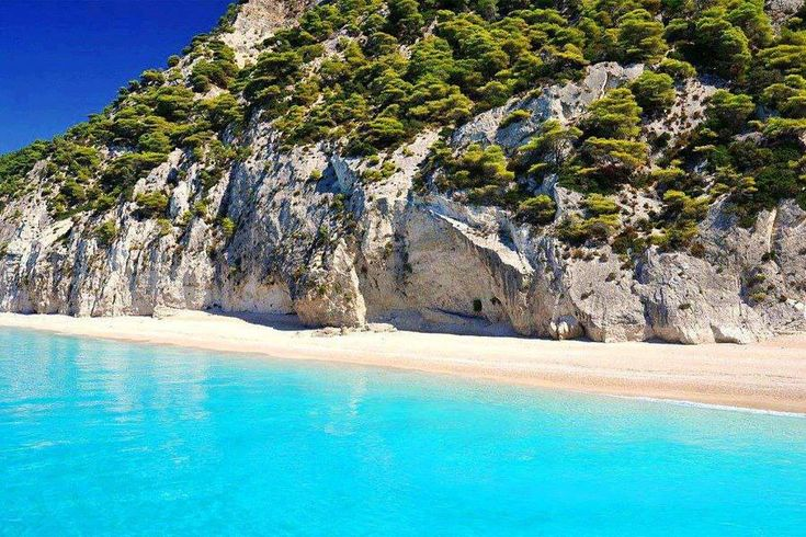Pefkoulia beach, Lefkada, Greece