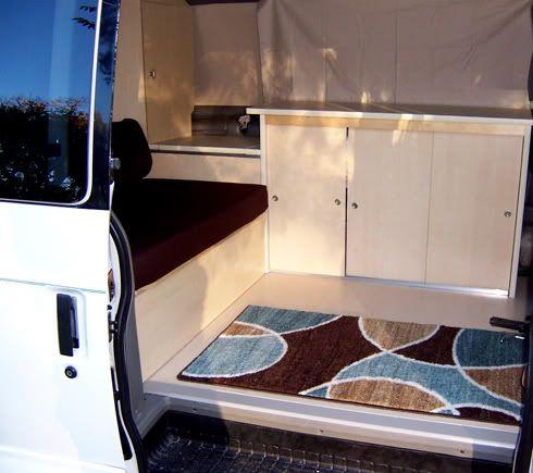 Astro Van To Camper Conversion Van To Camper Conversion