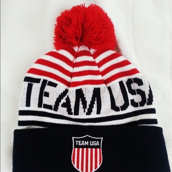 TEAM USA OLYMPIC 2014 BEANIE TEAM USA OLYMPIC 2014 BEANIE RED WHITE & BLUE STRIPED BEANIE ADULT ONE SIZE FITS MOST... Only worn Twice and needs a new home ❌❌Holes or shown that it was ever worn it's in wonderful condition ✔️✔️ red white and blue Team Apparel Accessories Hats