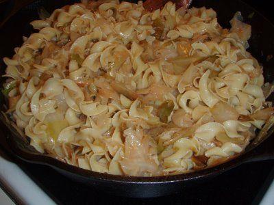 Halushki (Cabbage and Noodles)
