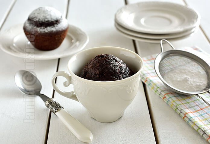Mug cake / Prajitura la cana