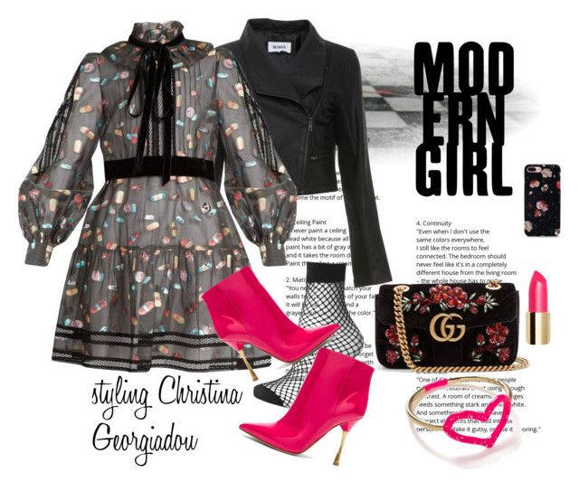 Modern Girl by christina-geo on Polyvore featuring Marc Jacobs, BB Dakota, Topshop, Valentino, Gucci, Jordan Askill and modern