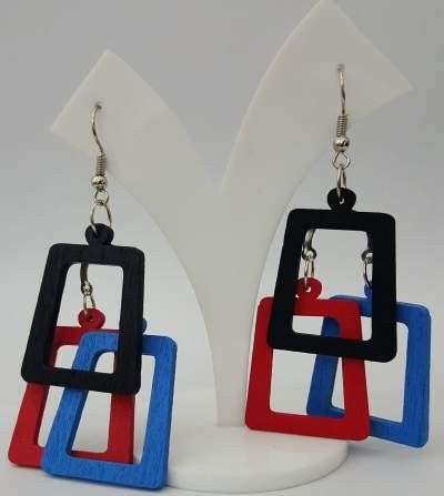Check out our New Product  Dilegno Drops DLBLRB006 COD Plain wooden  dangle drops  ₹299
