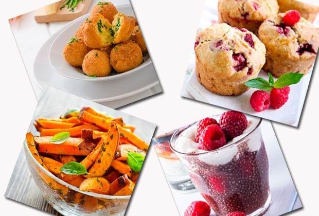 Especialista ensina quatro receitas práticas e deliciosas com os ingredientes queridinhos do momento nas dietas, como batata doce, óleo de coco e chia