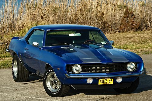 Muscle Cars… Chevrolet Camaro 1969