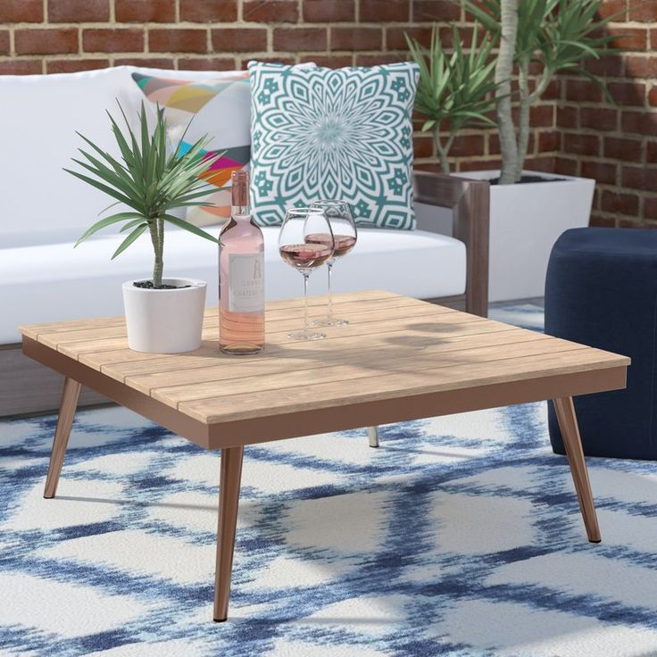 Bendale Contemporary Outdoor Table