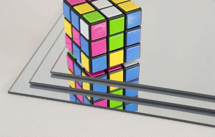 Acrylic Mirror Sheet Cut To Size - Lightweight & Shatterproof