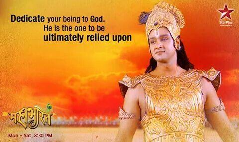 #Krishna #Devotion #God #Mahabharat Star Plus #Gita