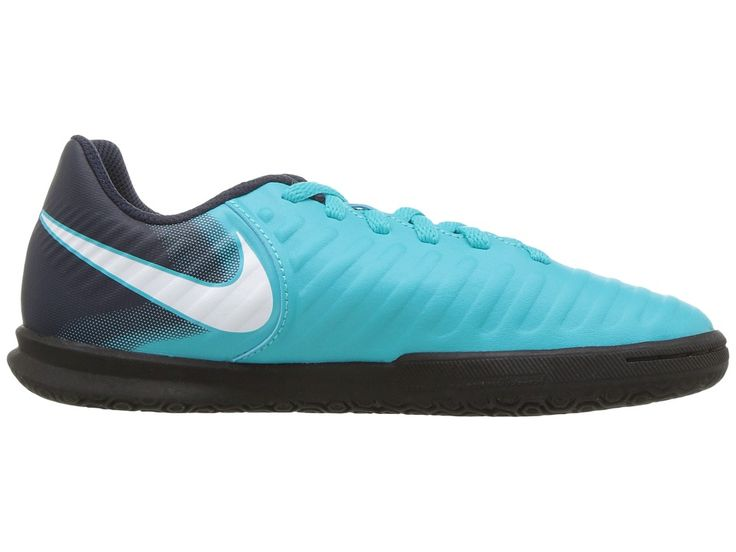 Nike Kids TiempoX Rio IV IC Boot (Toddler/Little Kid/Big Kid) Kids Shoes Gamma Blue/White/Obsidian/Glacier Blue