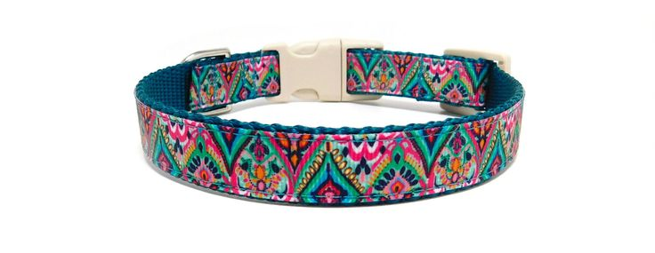 Unique Dog Collars and Leashes made in a variety of different materials. Specialized in personalized metal buckles and custom designs.