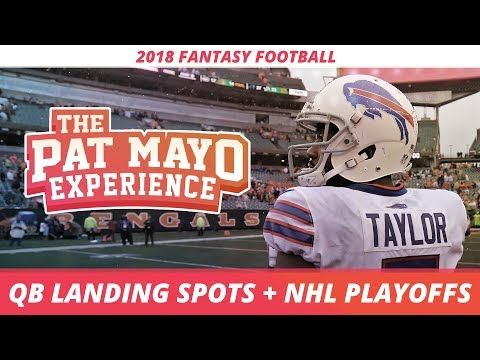 QB Landing Spots, 2018 Fantasy Football RB Rankings, NHL Playoff Preview and League of Leagues