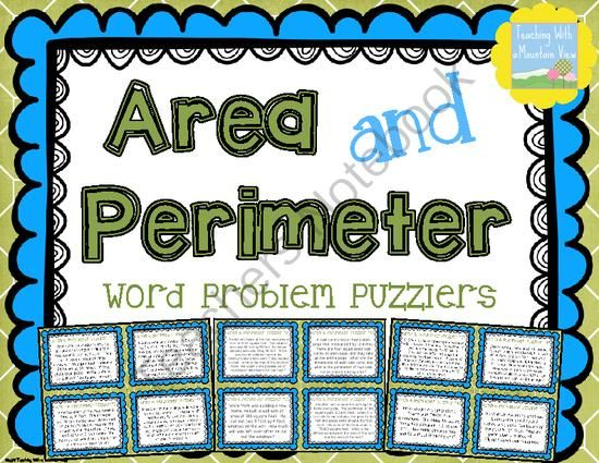 area and perimeter word problems worksheets for grade 5 pdf