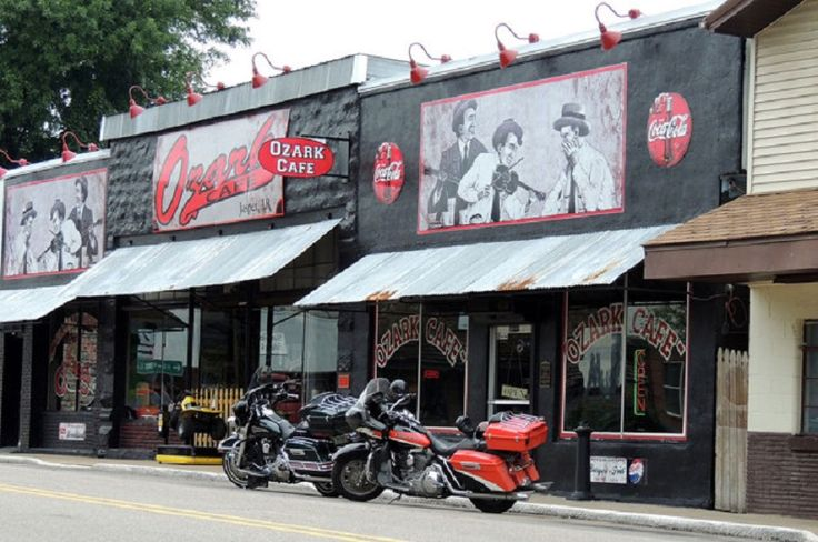 The iconic diner in Jasper, Arkansas, The Ozark Cafe, is known for more than burgers and shakes (photo courtesy of The Ozark Cafe)