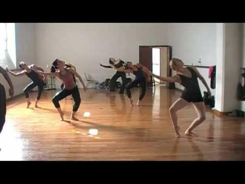 ▶ Técnica Graham, Nivel Avanzado II -Clase de Exhibición- (parte 4 de 7) - YouTube