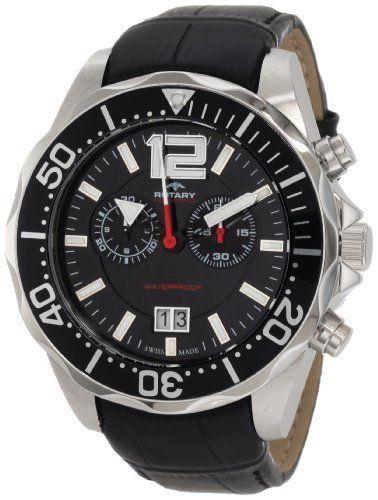 Rotary Men S Ags90050 C 04 Aquaspeed Sports Chronograph