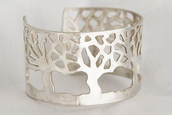 custom unique elegant sterling silver bracelet by Silversify