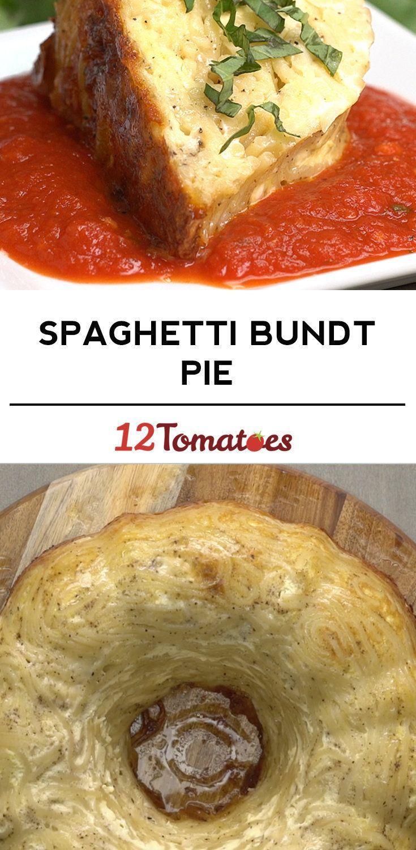 Spaghetti Bundt Pie