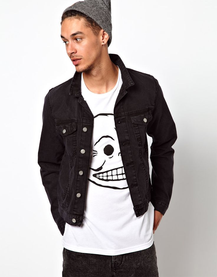 Cheap Monday Tobias Denim Jacket | Guy Style | Pinterest | Mondays ...