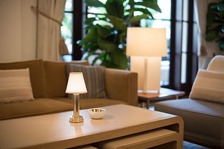 Neoz 'Victoria' Cordless Table Lamp at Montage Hotel Beverly Hills.