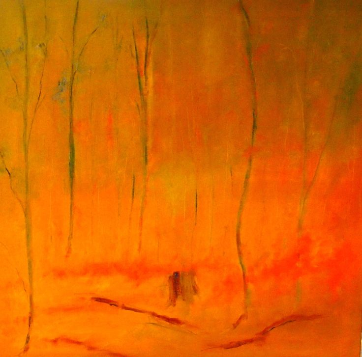 """""""The aftermath of the fires (Framed)"""" by Margaret Morgan (Watkins). Paintings for Sale. Bluethumb - Online Art Gallery"""