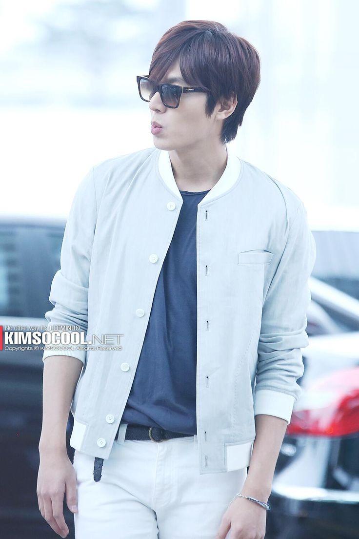 Lee Min Ho @ Incheon airport 140410